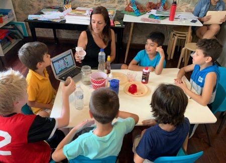 fourth grade the casco school